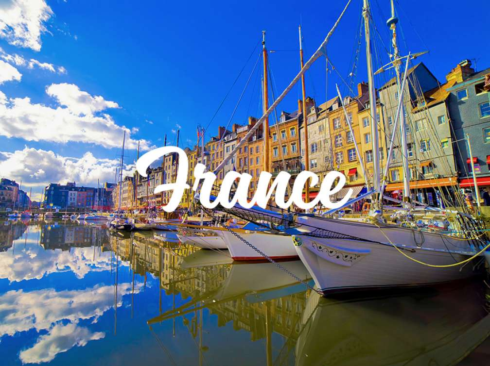 Port de Deauville en France